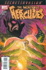 Incredible Hercules #118 (2008) Secret Invasion Marvel comic book